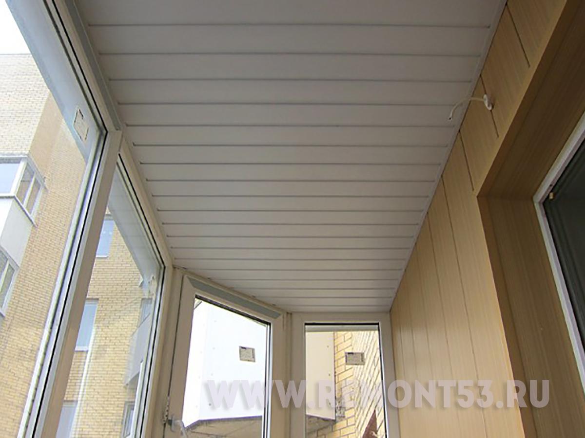 Потолок на балконе - плюсы и минусы разных материалов.