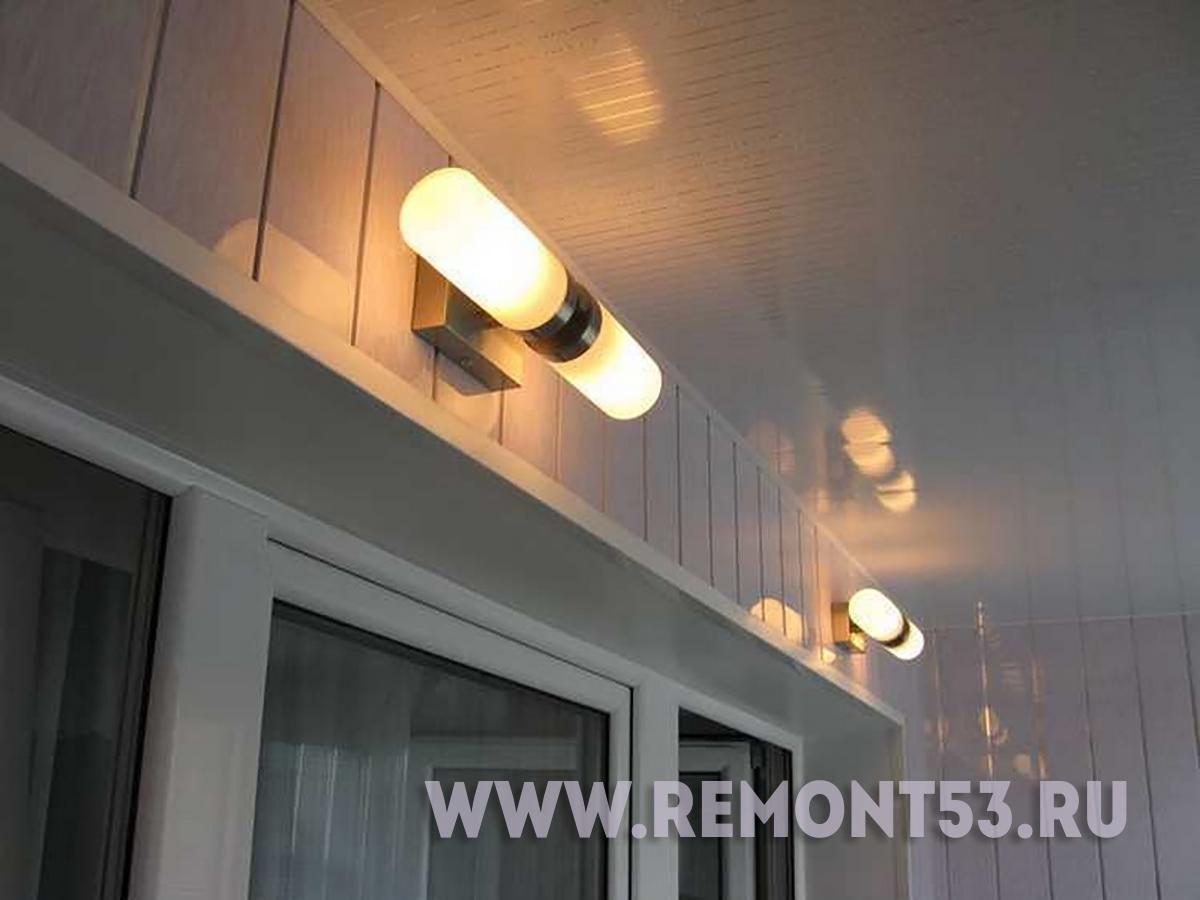 Светильники на потолок на балкон.